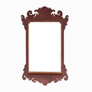 Antique Mahogany Wall Mirror
