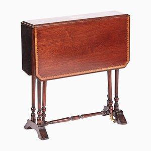 Antique Edwardian Mahogany Baby Sutherland Table