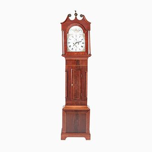 Antique Mahogany 8 Day Longcase Clock from J N Tilbury Guensey