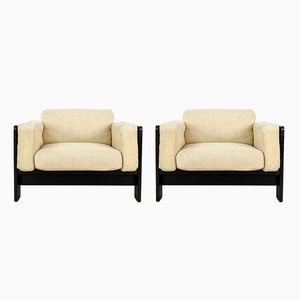 Vintage Bastiano Lounge Chairs by Tobia & Afra Scarpa for Knoll International, Set of 2
