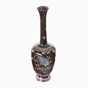 Antike japanische Cloisonne Miniaturvase