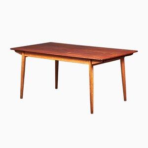 Table de Salle à Manger Mid-Century en Chêne & en Teck de Slagelse Møbelværk, 1960s