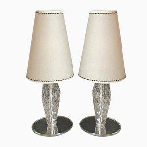 Lampade da tavolo vintage, set di 2