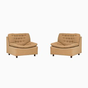 Modular Lounge Chairs, 1960s, Set of 2