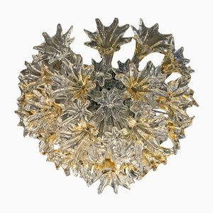 Murano Glass Esprit Ceiling Light by Paolo Venini, 1970s