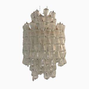 Große Wandleuchte aus Glas von Barovier & Toso, 1960er