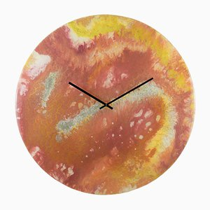 Extra Large Wall Clock with Lighting by Craig Anthony for Reformations