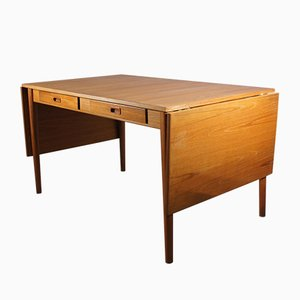 Vintage Swedish Dining or Work Table by Nils Jonsson for Hugo Troeds