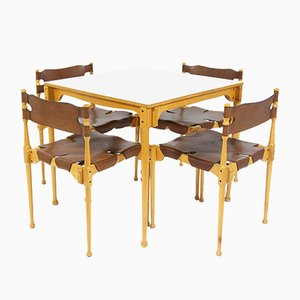 Vintage Model Montreal Dining Set by Frei Otto for Karl Fröscher & Co., 1967