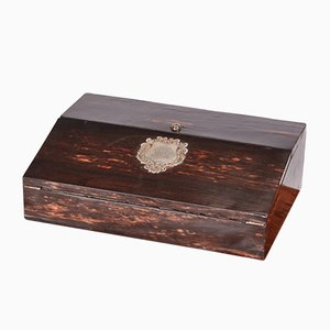 Victorian Coromandel Writing Box, 1850s
