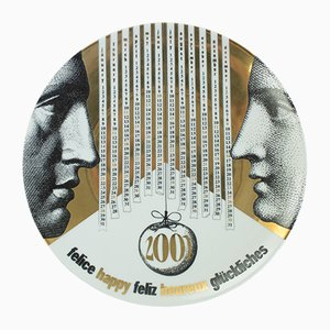 Vintage Italian Plate by Atelier Fornasetti, 2001