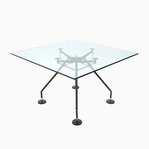 Tavolo Nomos di Norman Foster per Tecno, anni '80