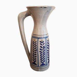 Grand Pichet en Céramique par Roger Capron pour Vallauris, 1960s