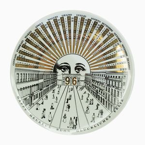 Vintage Plate by Atalier Fornasetti, 1996