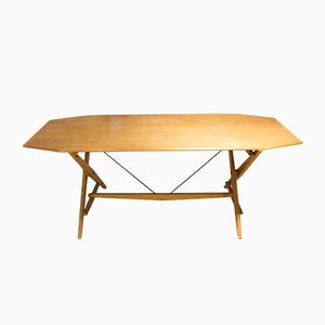 TL2 Trestle Table by Franco Albini for Poggi, 1950s