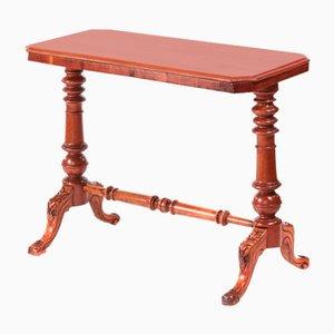 Victorian Mahogany Side Table, 1880s