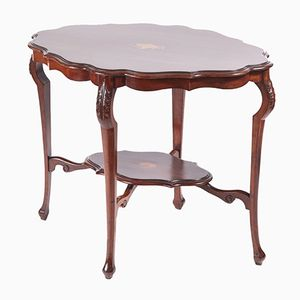 Edwardian Inlaid Mahogany Centre Table