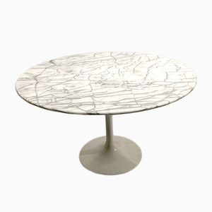 Vintage Italian Marble Dining Table, 1960s