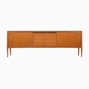 Mid-Century Danish Teak Sideboard by H.W. Klein for Bramin, 1960s
