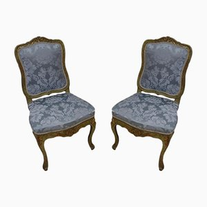 18th-Century Side Chairs, Set of 2