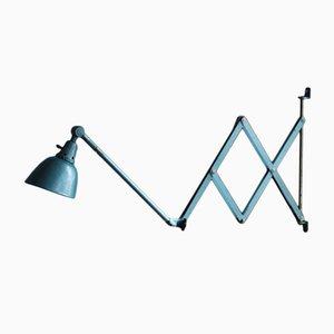 Lámpara de acordeón Tipo 1000-I lacada de Curt Fischer para Midgard, años 50