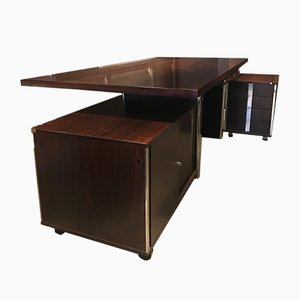 Executive Desk by Ico & Luisa Parisi for MIM, 1960s