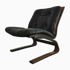 Vintage Rosewood Kengu Chair by Elsa & Nordahl Solheim for Rybo Rykken & Co