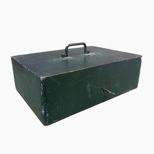 Caja industrial vintage, años 40