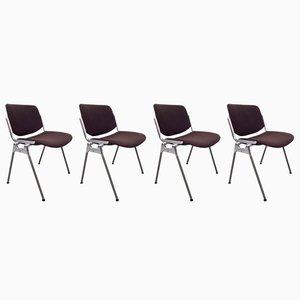 DSC 106 Stühle von Giancarlo Piretti für Castelli, 1960er, 4er Set
