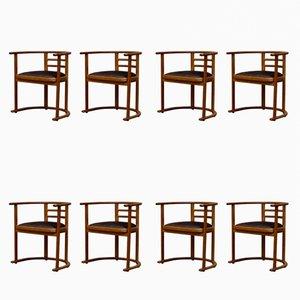 Art Deco Swedish Dining Chairs, 1920s, Set of 8