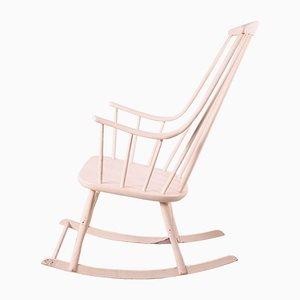 Rocking Chair Grandessa par Lena Larsson pour Nesto, Suède, 1960s