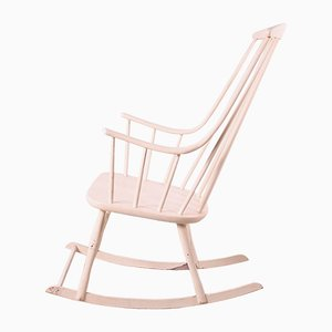 Swedish Grandessa Rocking Chair by Lena Larsson for Nesto, 1960s