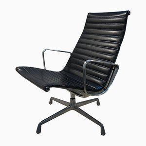 EA108 Vinyl & Aluminum Chair by Charles & Ray Eames for Herman MIller, 1975