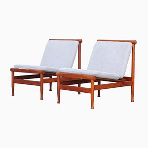 Lounge Chairs by Kai Lyngfeldt Larsen for Søborg Møbelfabrik, 1950s, Set of 2