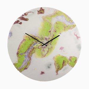 Horloge Extra Large en Verre avec Lumière par Craig Anthony pour Reformations