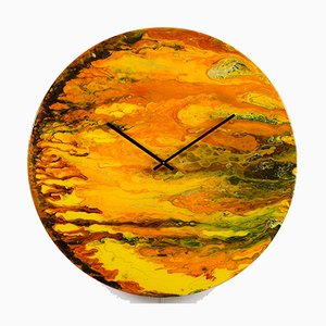 Große künstlerische Uhr mit Beleuchtung von Craig Anthony für Reformations