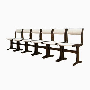 Chaises Vintage, Danemark, Set de 6