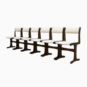 Dänische Vintage Stühle, 6er Set