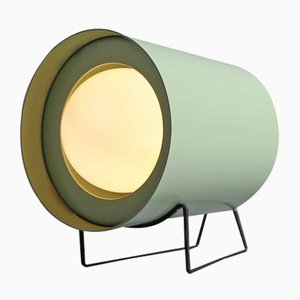 Green Focus Table Lamp by Tree