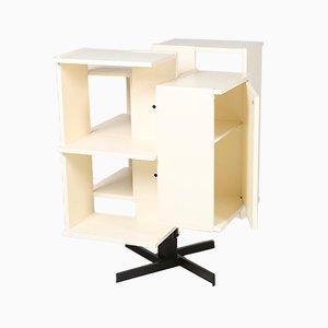 Drehbares Bücherregal von Claudio Salocchi für Luigi Sormani, 1970er
