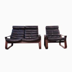 2-Sitzer Sofa und Sessel von Georg Thams für Vejen Polstermøbelfabrik, 1970er