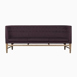 Purple Mayor Sofa by Arne Jacobsen for &Tradition, 1980s