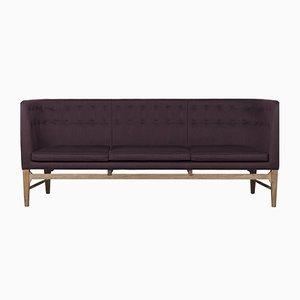 Sofá Mayor morado de Arne Jacobsen para &Tradition, años 80