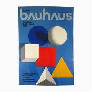 Bauhaus Poster von Herbert Bayer, 1968