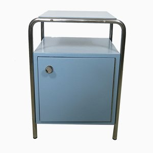 Steel Tube Bedside Table from Slezak, 1930s