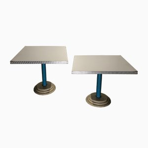 Kroma Tables by Antonia Astori for Driade, 1984, Set of 2