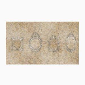 Fresco's Frames Wandgemälde von WALL81