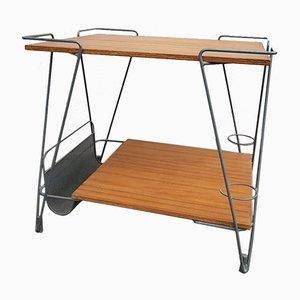 Tavolino di servizio di Mathieu Matégot, anni '50