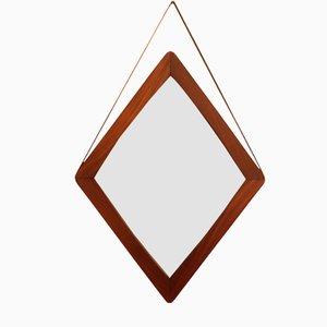 Italian Rhombus Mirror, 1950s