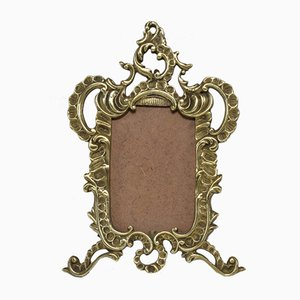 Antique French Brass Picture Frame